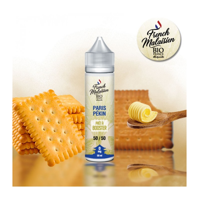 E-LIQUIDE BIO FRANCE PARIS PEKIN 50 ML